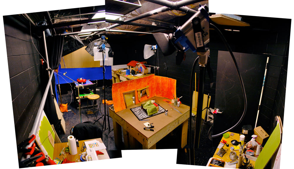 Studio stitched up