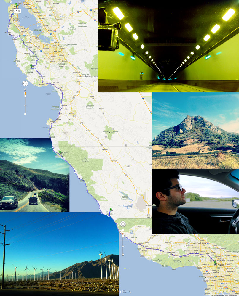 Our road trip to San Francisco to Los Angeles