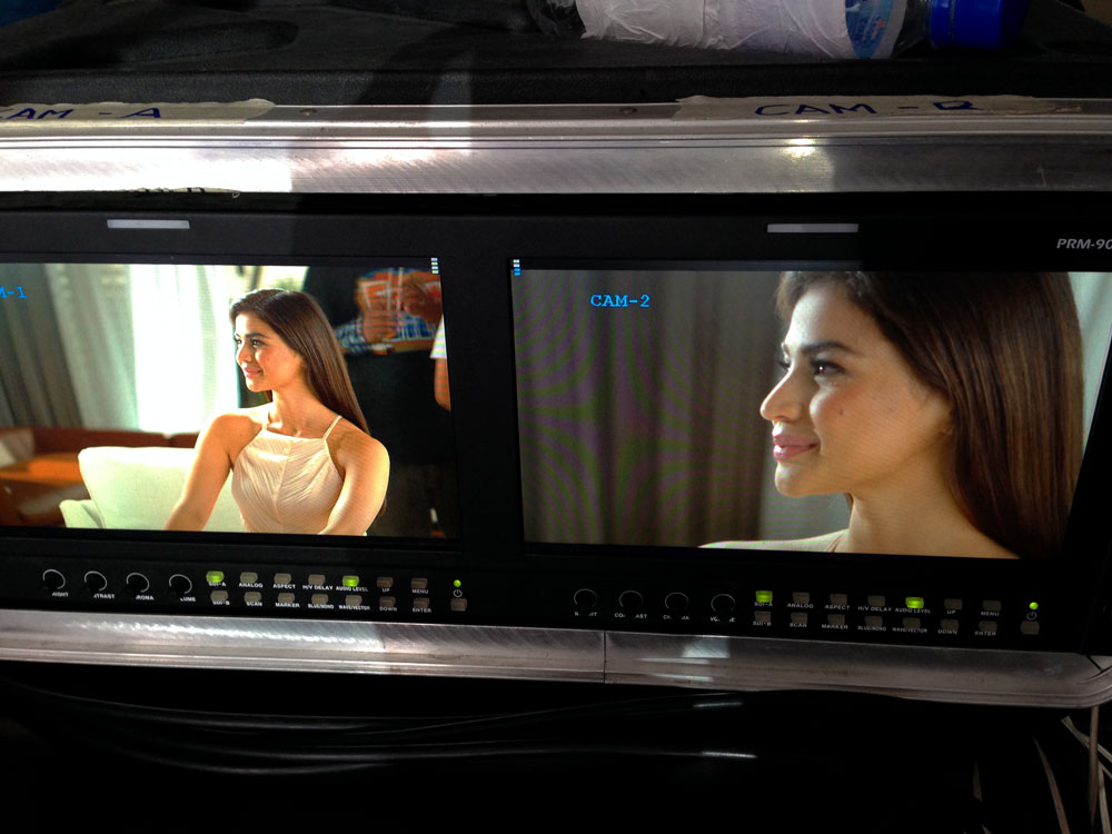 First time to work with Anne Curtis