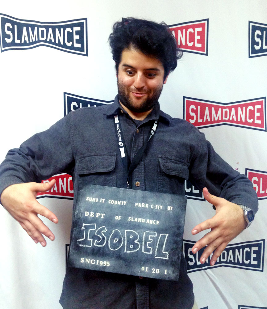 Jason at Slamdance