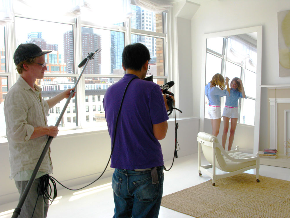 Cinematographer Ming Kai Leung shoots Natalia