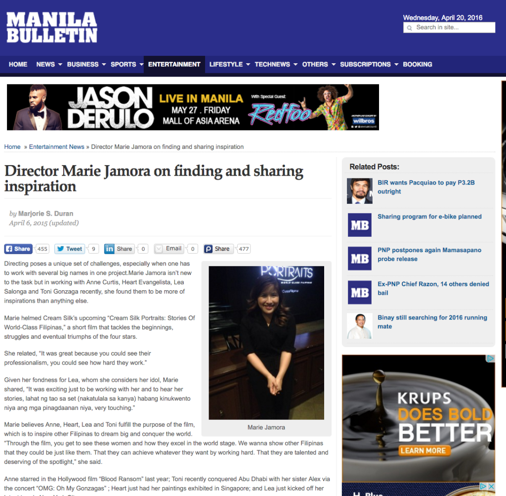 http://www.mb.com.ph/director-marie-jamora-on-finding-and-sharing-inspiration/