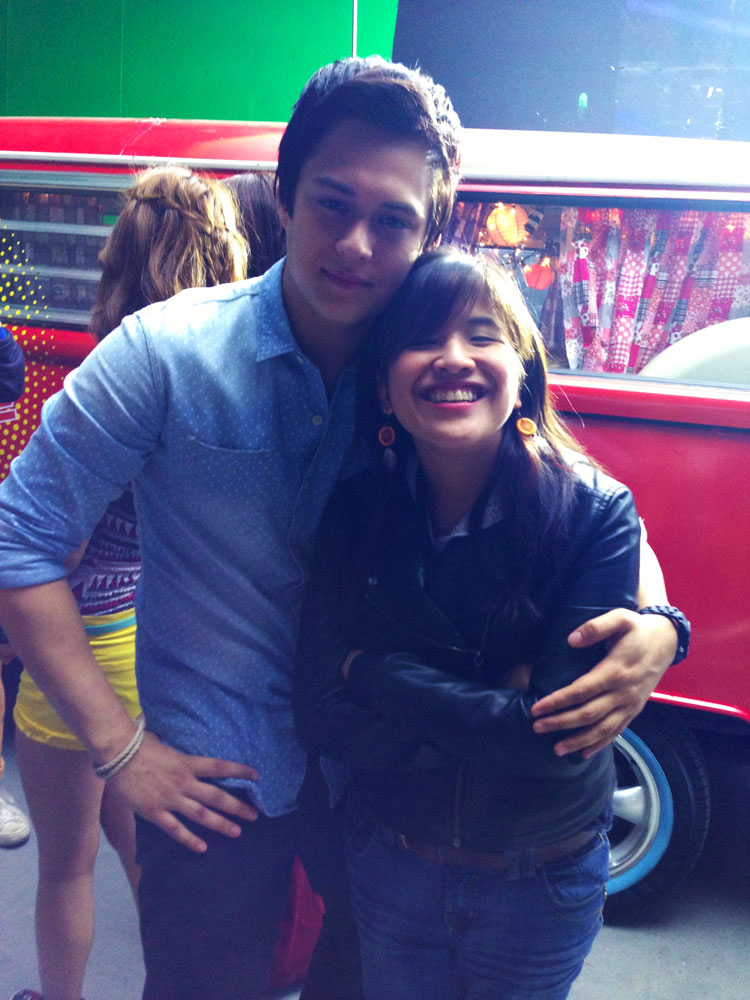 Enrique Gil and Marie