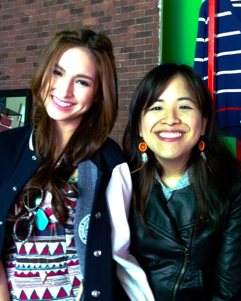 Coleen Garcia and Marie